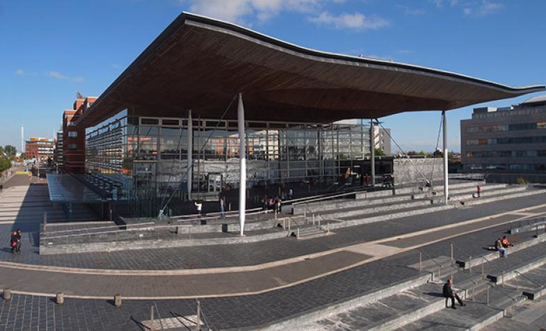 Senedd building for Future Vision programme (Wales)