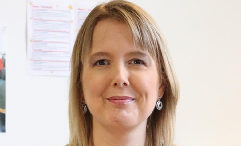 Tracey Bleakley, CEO of Hospice UK, landscape headshot