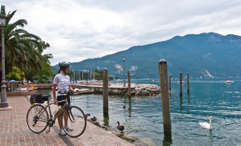 Great Italian Lakes Cycle Challenge, Lake Garda
