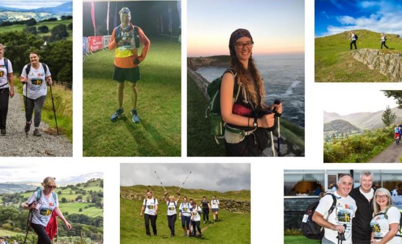 Hiking Challenge photo collage