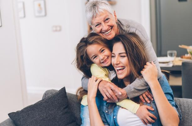 3 generations of women together