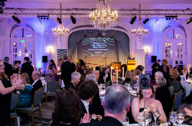 The 2019 Hospice UK Gala Dinner, held at the Savoy Hotel